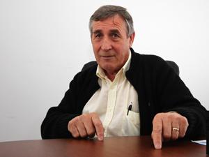 Juan Domingo Rodríguez, secretario general de SUTERyH Mar del Plata.