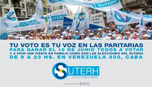 """""""Tu voto es tu voz en las paritarias"""""""
