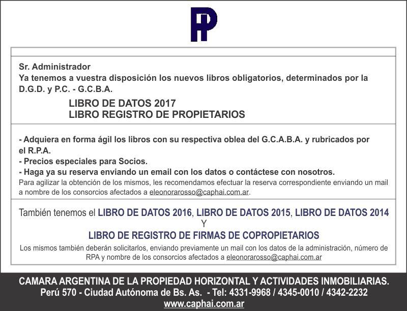 Cámara Argentina de Propiedad Horizontal y Actividades Inmobiliarias