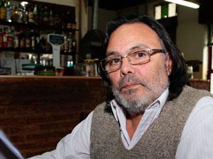 """Jorge """"Nebbia"""" Miño, fundador de la Agrupación 20 de Diciembre de Encargados de Edificios."""