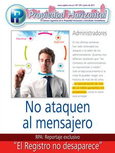Revista Propiedad Horizontal Nº 339 de Junio de 2017.
