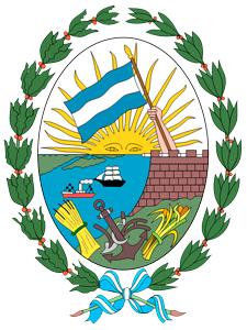 Escudo de la ciudad de Rosario.