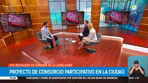 El 27 de noviembre Lisandro Cingolani es entrevistado en vivo por los conductores del programa TPA Noticias que se emite por la Televisión Pública.