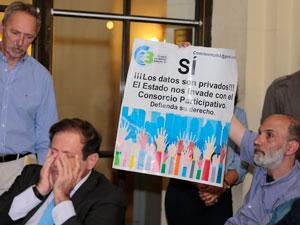 De Izq. a Der.: Jorge Resqui Pizarro y Andres Zulberti.