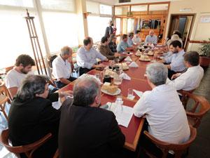 La reunión se realizó el 4 de diciembre.