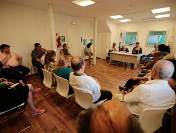 Reunión del Consejo Consultivo de la Comuna 3.