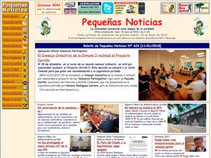 Pequeñas Noticias posee el archivo histórico sobre consorcios más importante del país de los últimos 17 años.