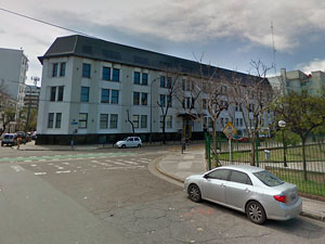 Edificio donde funciona la sede del Registro Público de Administradores.