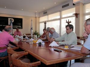 Asistieron tres integrantes de la Comisión de Propiedad Horizontal del CPCE.