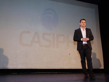 Las palabras de apertura estuvieron a cargo del Ing. Gabriel Rollandi.