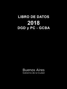 El Libro de Datos 2018 es obligatorio comprarlo, rubricarlo, mantenerlo actualizado y guardarlo por dos años.