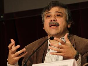 Sergio Abrevaya en septiembre de 2013 (Archivo Pequeñas Noticias).