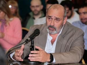 Gustavo Ariel Cané, tesorero de APH.
