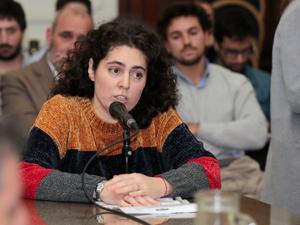 Victoria Loisi, miembro de la Fundación Liga del Consorcista.