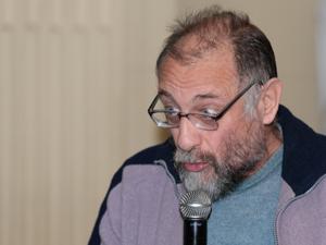 Osvaldo Musante, coordinador de la Comisión de Consorcios de la Comuna 12.