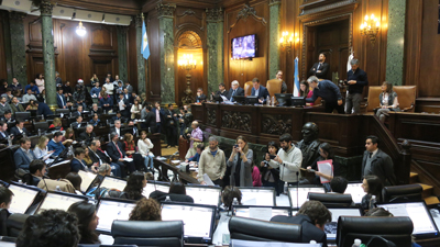 El debate legislativo del Proyecto Carrillo.
