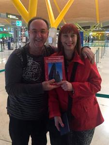 Diana Sevitz junto a Pepe Gutierrez, reconocido administrador español.