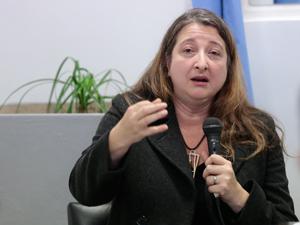 María Rosa Muiños del Bloque Peronista.