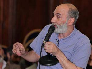 Andrés Zulberti, Coordinador de la Comisión de Consorcios de la Comuna 3.