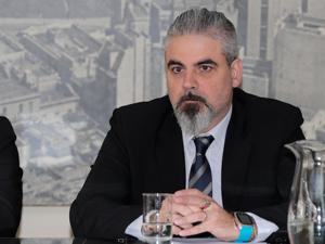 José Luis Lobisch, responsable del Registro Público de Administradores de Consorcios de la CABA.
