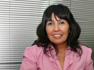 Mercedes García, presidente de ADEPROH [foto archivo Pequeñas Noticias]