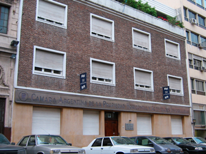 Sede de la Cámara Argentina de Propiedad Horizontal y Actividades Inmobiliarias.