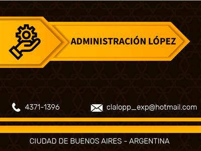 Administración López.