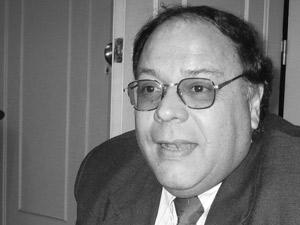 Adm. Ángel Jorge Marra en el curso de una entrevista que concedió a Pequeñas Noticias en 2006.