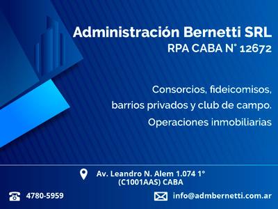 Administración Bernetti SRL