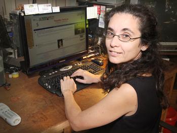 María Fabiana Lizarralde.