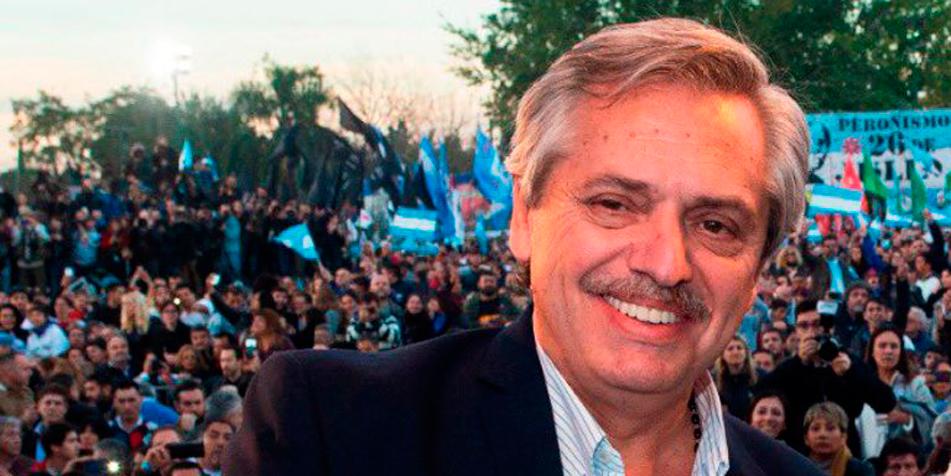 Dr. Alberto Fernández [foto recortada del perfil de Facebook de Fernández]