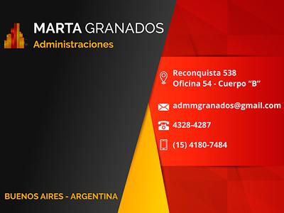 Marta Granados - Administraciones