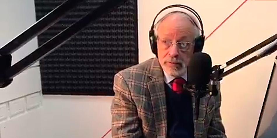 """Horacio Verbitsky en el programa """"Habrá consecuencias"""" de """"El Detape Radio""""."""