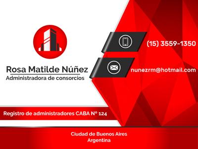 Administradora Rosa Matilde Núñez