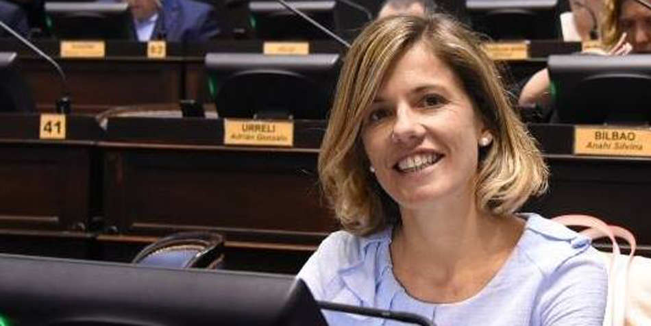 Laura Virginia Aprile (Cambiemos Buenos Aires) Foto: Facebook de la diputada.