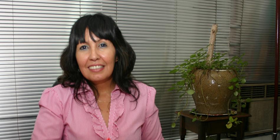 Mercedes García, presidente de ADEPROH [Foto: archivo de Pequeñas Noticias]