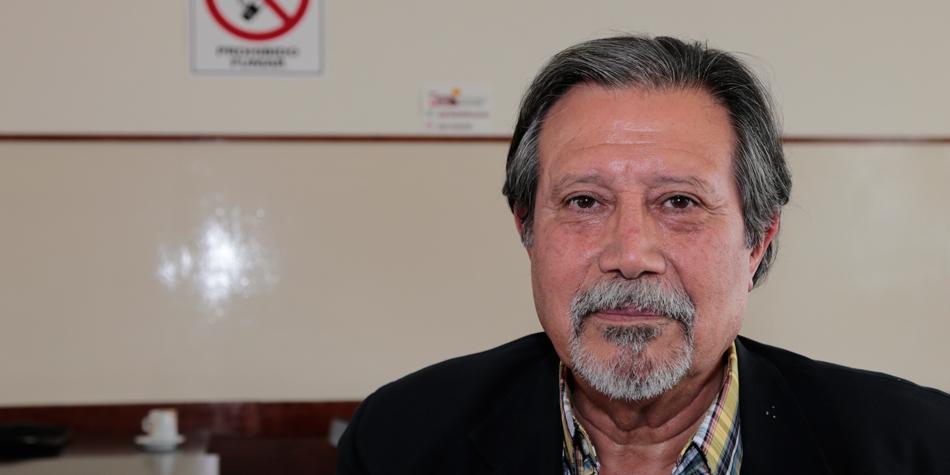 Adm. Arcángel Díaz Ibáñez, presidente de la Cámara de la Propiedad Horizontal de Santa Fe 2º Circunscripción [archivo Pequeñas Noticias].