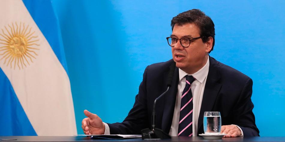 Claudio Moroni, ministro de Trabajo de la Nación [foto Presidencia de la Nación]