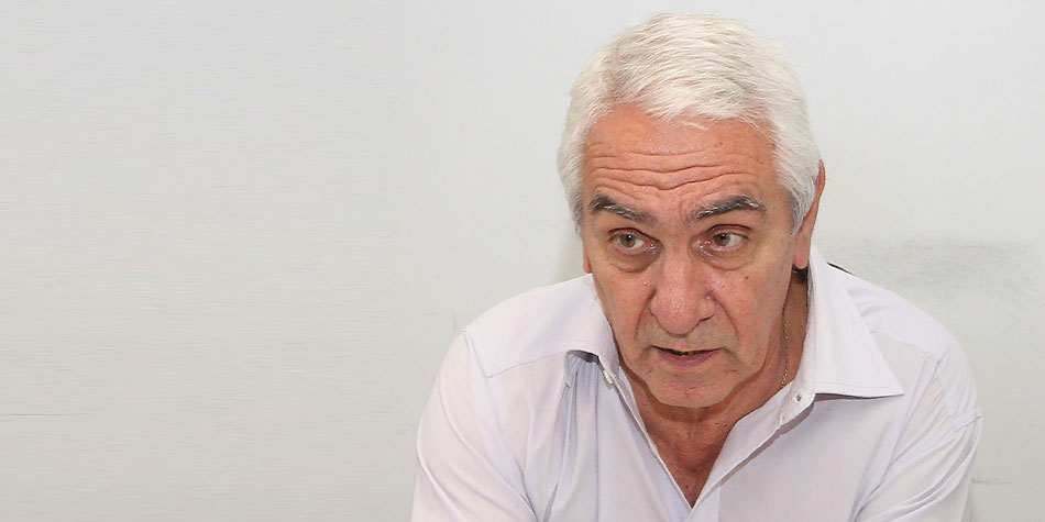 Osvaldo Bacigalupo [Foto archivo de Pequeñas Noticias].