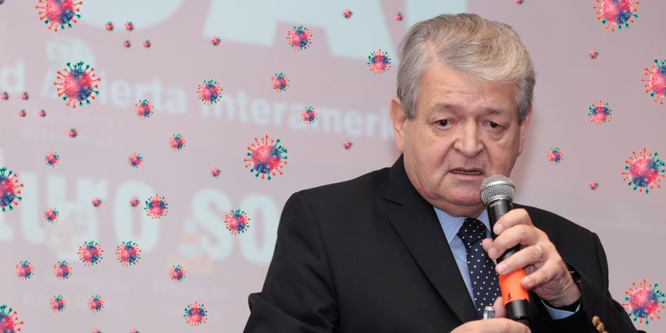 Adm. Jorge Hernández, presidente de la Fundación Reunión de Administradores [Foto archivo de Pequeñas Noticias].