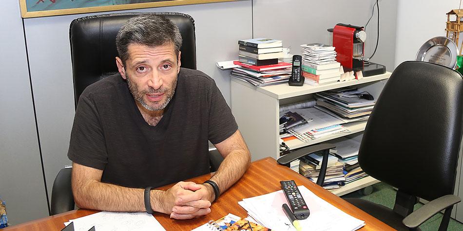 Víctor Santa María, titular del SUTERH (Sindicato Único de Trabajadores de Edificios de Renta y Horizontal) y presidente del PJ porteño.