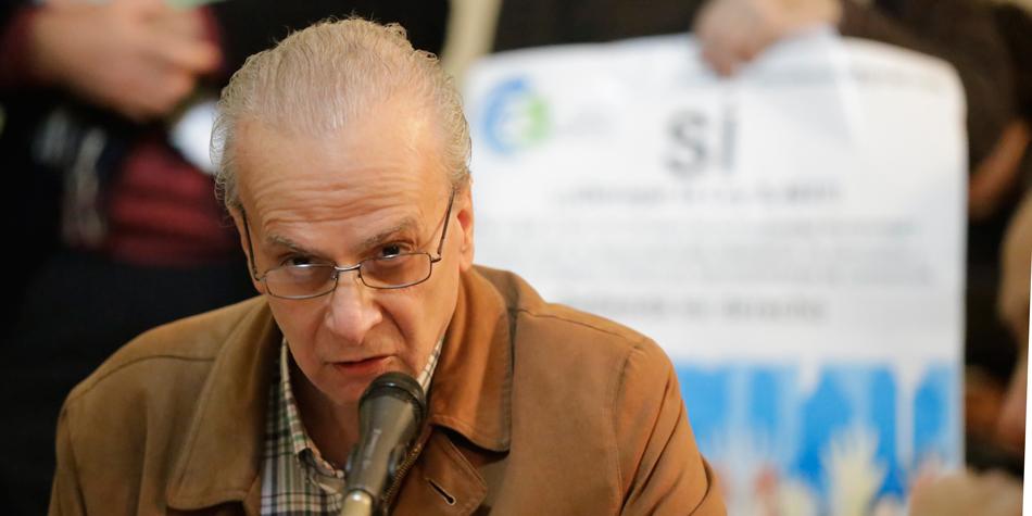 Ing. Osvaldo Buscaya [Foto archivo de Pequeñas Noticias]