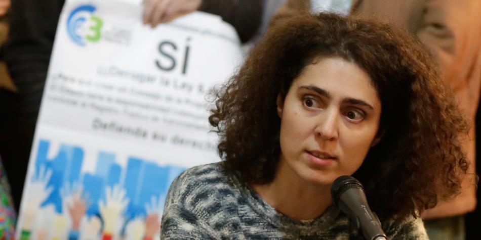 Dra. Victoria Loisi [Foto archivo Pequeñas Noticias]
