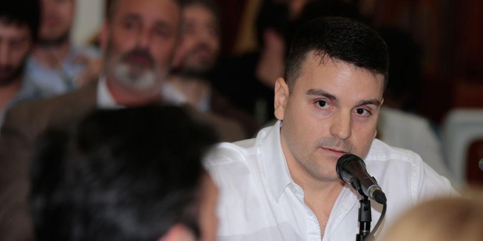 Gabriel Rollandi, presidente de la Cámara Argentina de Sistemas Informáticos de Propiedad Horizontal [Foto archivo de Pequeñas Noticias].