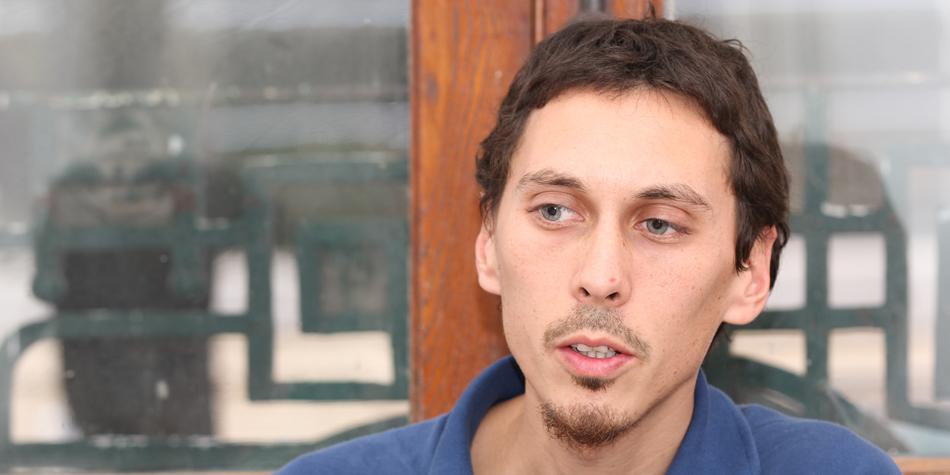 German Schierff, presidente de la Asociación Platense de Inquilinos (API) [foto archivo Pequeñas Noticias]