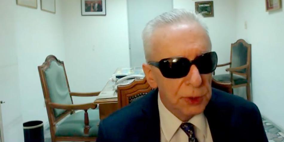 """Dr. Eduardo Awad, presidente del Colegio Público de Abogados de la Capital Federal (CPACF) [Fotograma parcial del programa """"Reunión de Consorcios""""]"""