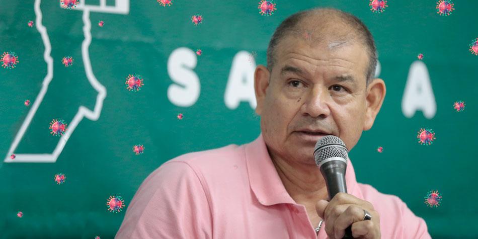 Gabriel Irala, presidente del Frente Nacional Trabajadores de Edificios (FreNTE)  [Foto archivo Pequeñas Noticias]