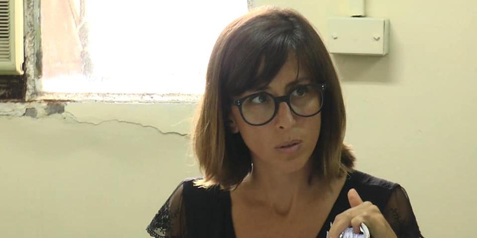 Concejala María Virginia Sívori (Frente de Todos) [Foto Facebook].