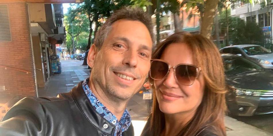Damián Rojo y Gabriela Pilar [Instagram de Damian Rojo del 18/09/20]
