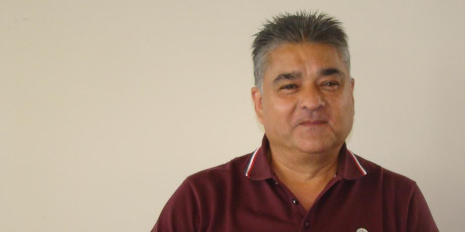 Oscar Guillermo Rojas, secretario general del Sindicato de Obreros de Maestranza [Foto SOM]